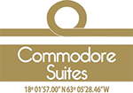 Commodore Suites Logo