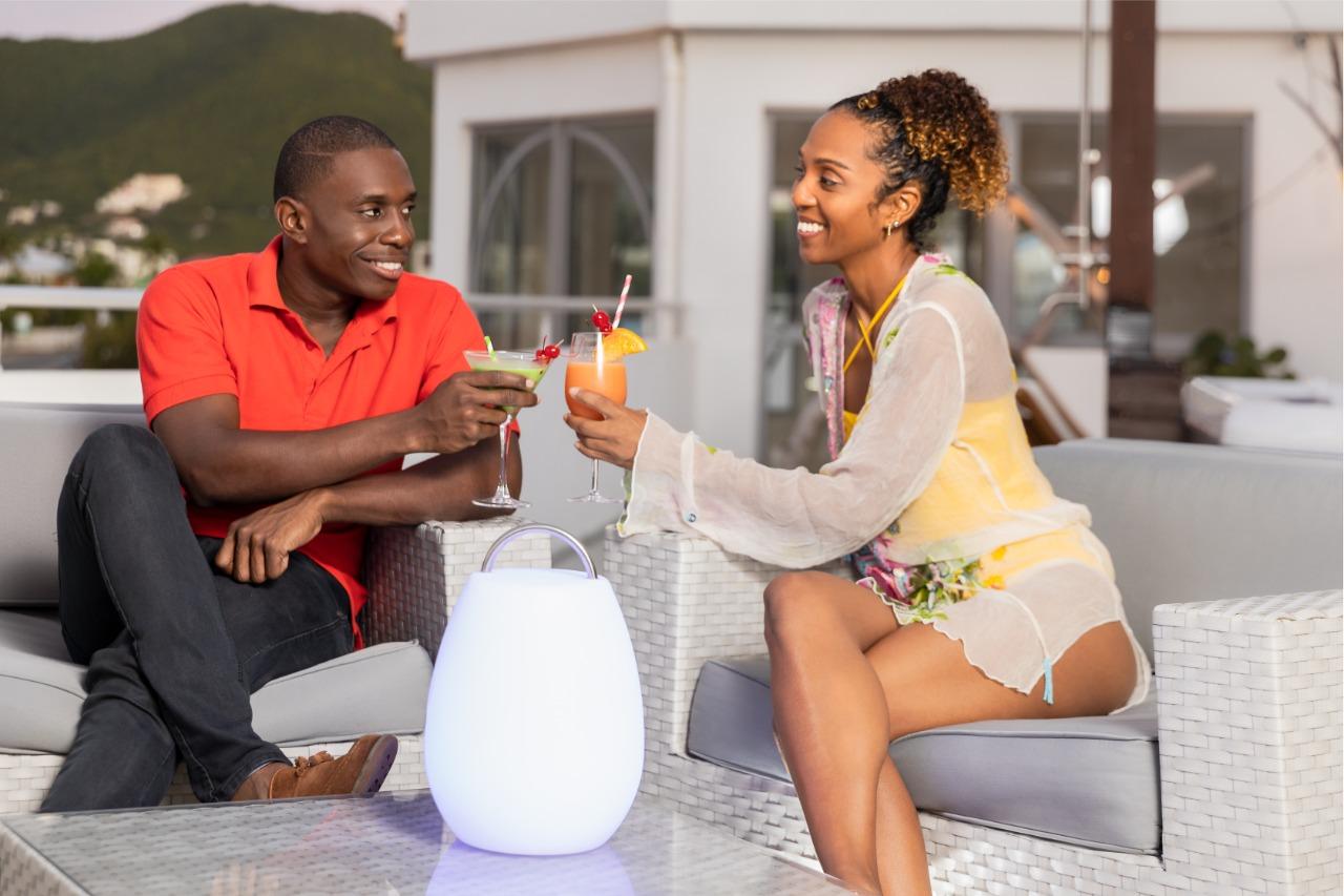 Rooftop Lounge - Sunset Terrace, Chill Area, Romantic Destination - Romance, Love